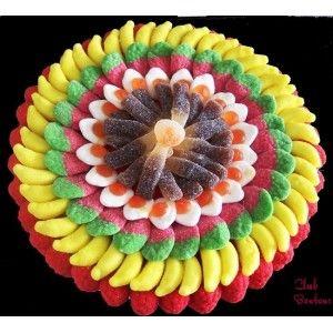 Gâteau de bonbons Tarte Fruitée