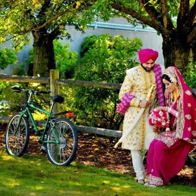 Punjabi wedding .