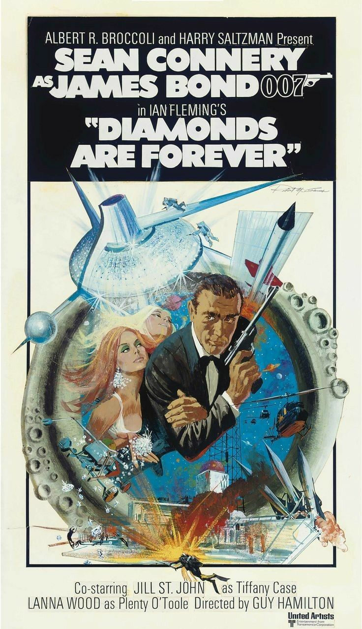 Diamonds are Forever (1971) Sean Connery, Jill St. John