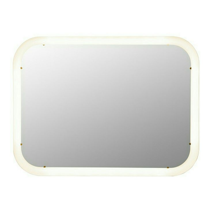 Photographic Gallery IKEA STORJORM Mirror with integrated lighting The LED light source consumes up to less energy and lasts times longer than incandescent bulbs