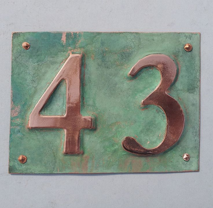 Wonderful 9 best House numbers images on Pinterest | House numbers, House  FC11