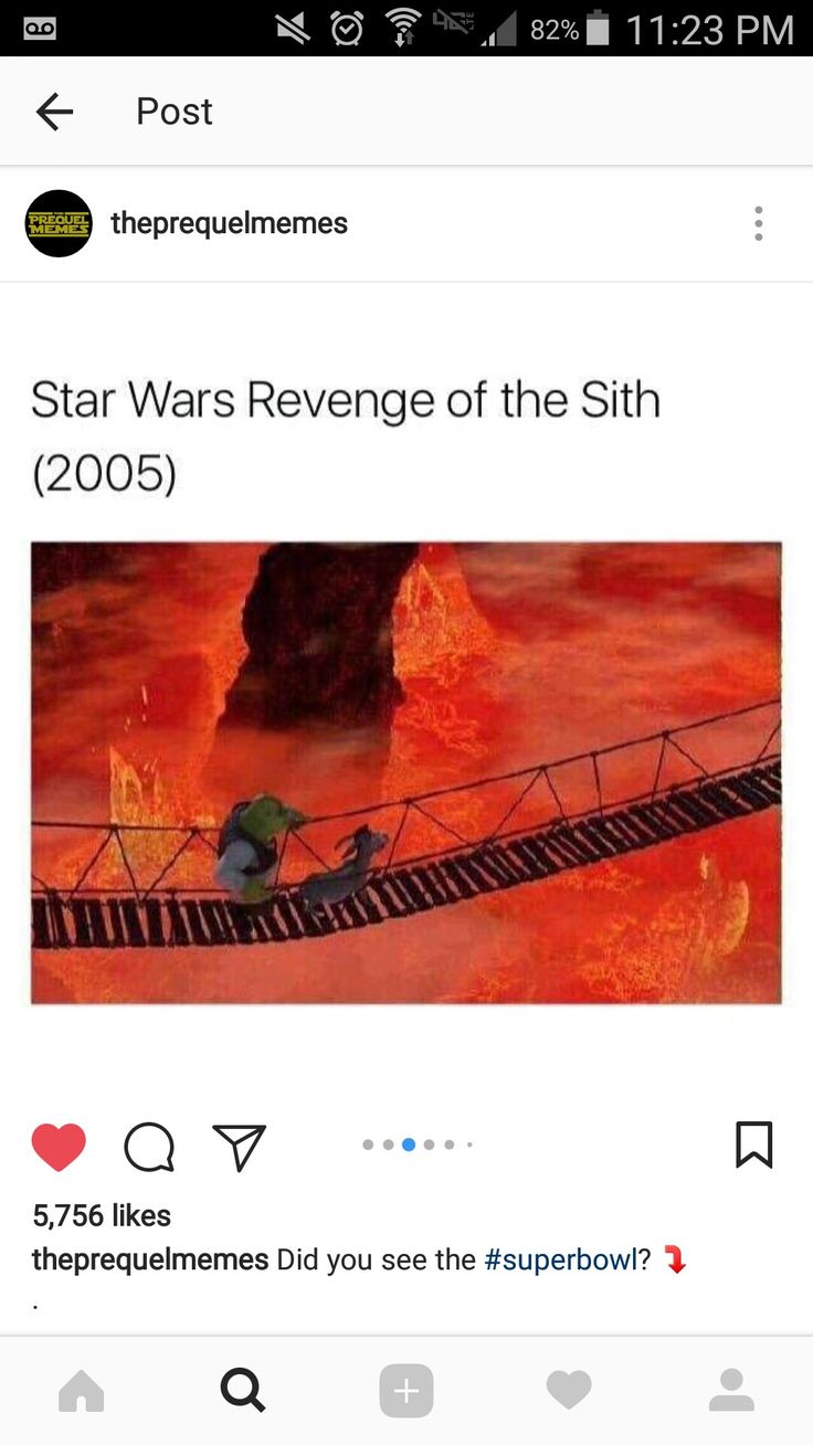 Say somethin nice about the prequels b