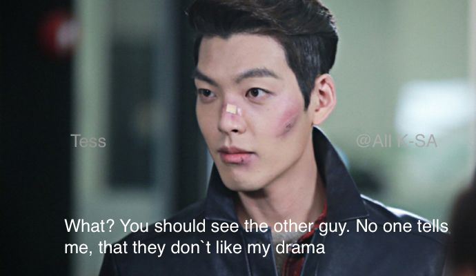 Yes, Woo Bin will kick you ass if you say something negative about his drama.