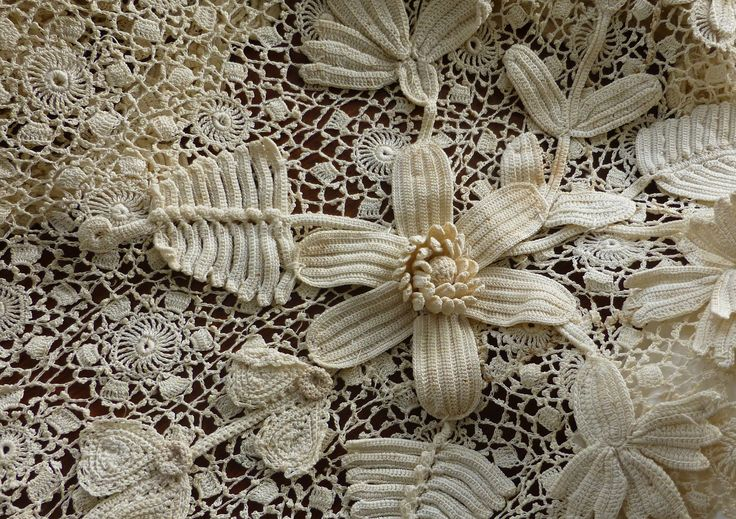 Vintage Irish lace (detail) from the Ivan Sayer collection.