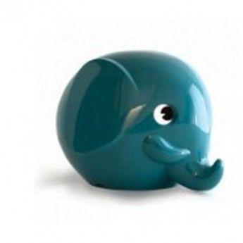 Small+Elephant+Money+Box+(turquoise)