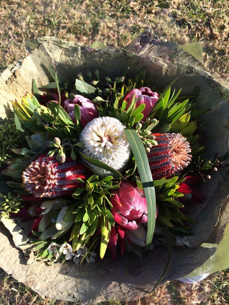 Native spiral bouquet.