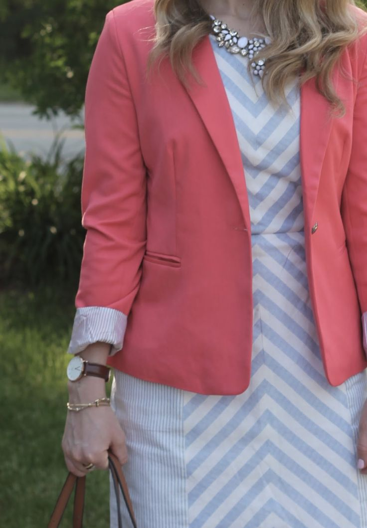 Best 25 Coral Blazer Outfits Ideas On Pinterest Colored