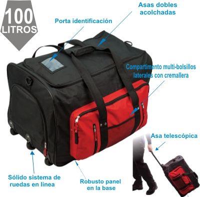 La bolsa Trolley Multi-Pocket
