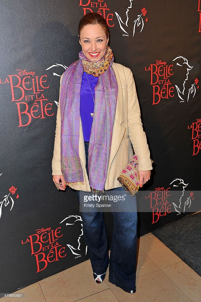 Natasha St-Pier attends the 'The Beauty And The Beast' Premiere at Theatre Mogador on March 20, 2014 in Paris, France.