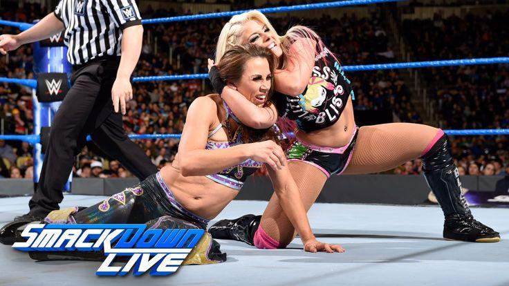 Mickie James vs. Alexa Bliss: SmackDown LIVE, March 14, 2017 - http://www.truesportsfan.com/mickie-james-vs-alexa-bliss-smackdown-live-march-14-2017/