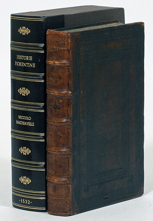 Niccolo Machiavelli - Historie Fiorentine. This and more rare books for sale on CuratorsEye.com
