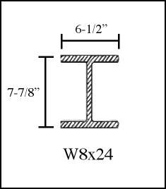 W8x24 Steel Beam Dimension Google Search Dimension