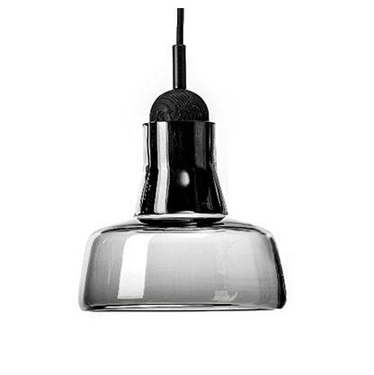 Craftsman Style 5W LED SMD Hanging Pendant with Smoke Glass Shade