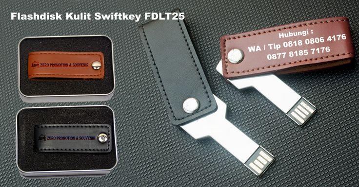 Souvenir Flashdisk Kulit Swiftkey FDLT25