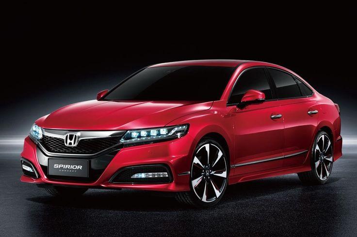 New Honda Spirior Konsep Previews China Next-Gen Accord - Carscoops