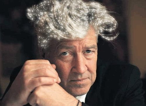 David Lynch's sparkly hair http://ow.ly/JCLQA