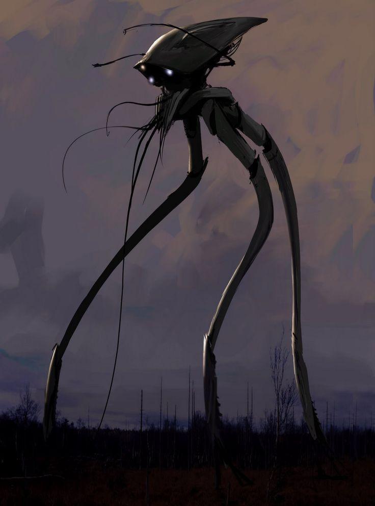Alien Roboter