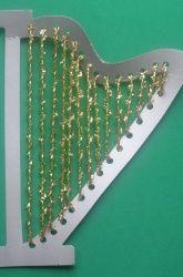 St. Patrick's Day Activity: Lace an Irish Harp!