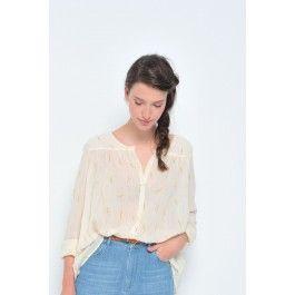 blouse sabin mimosa @ DES PETITS HAUTS