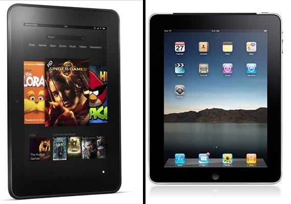 Amazon Kindle Fire HD vs Apple iPad 3