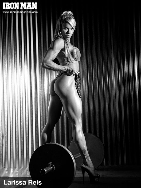 Fit, strong and beautiful! IFBB Figure Pro, Larissa Reis.