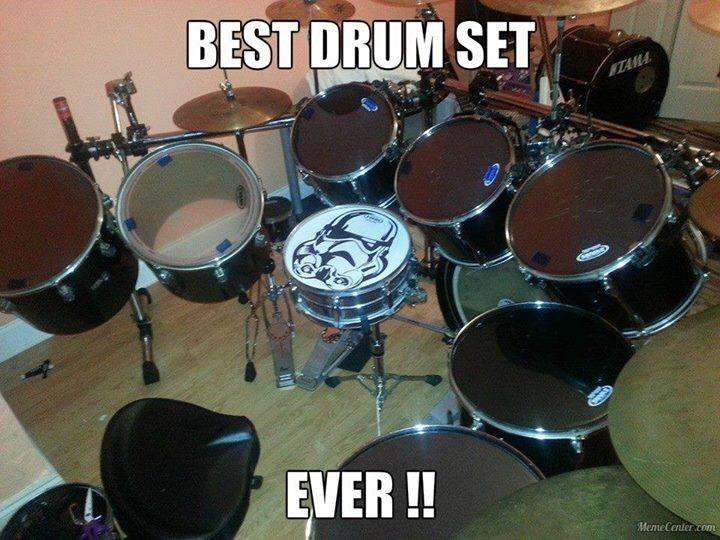 Coolest drum set EVER!   Instruments   Pinterest   Best ...