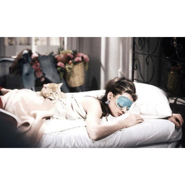 Breakfast at Tiffanys - sleeping beauty