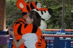 K's Birth Story – Part 1 – Our (in)Fertility Journey - A hug from Tigger doesn't make it all better, but it sure does bring a smile to your face.