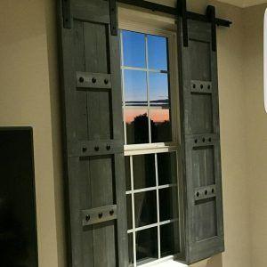Barn Door Window Hardware