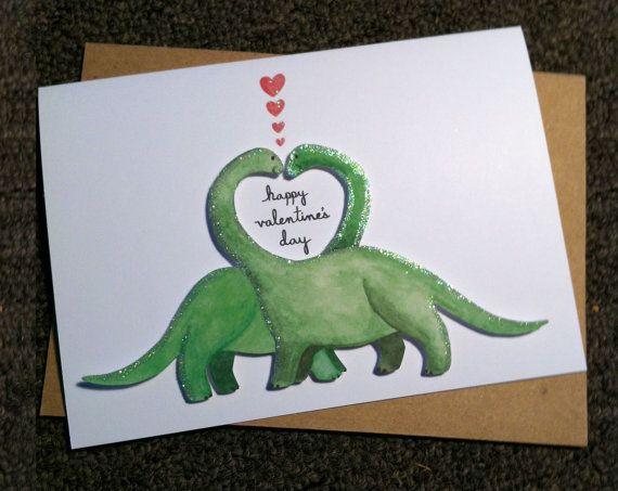 Best Dinosaur Valentines Cards Images On   Valentine