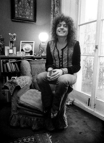 Marc Bolan at home