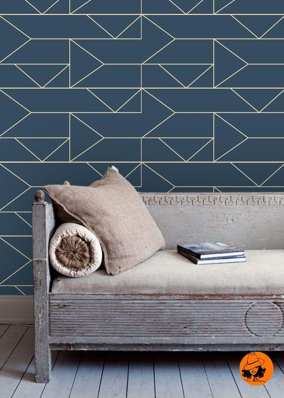 Bon plan  le papier peint adh sif repositionnable. 17 Best ideas about Wallpaper Decor on Pinterest   Spaces  Green