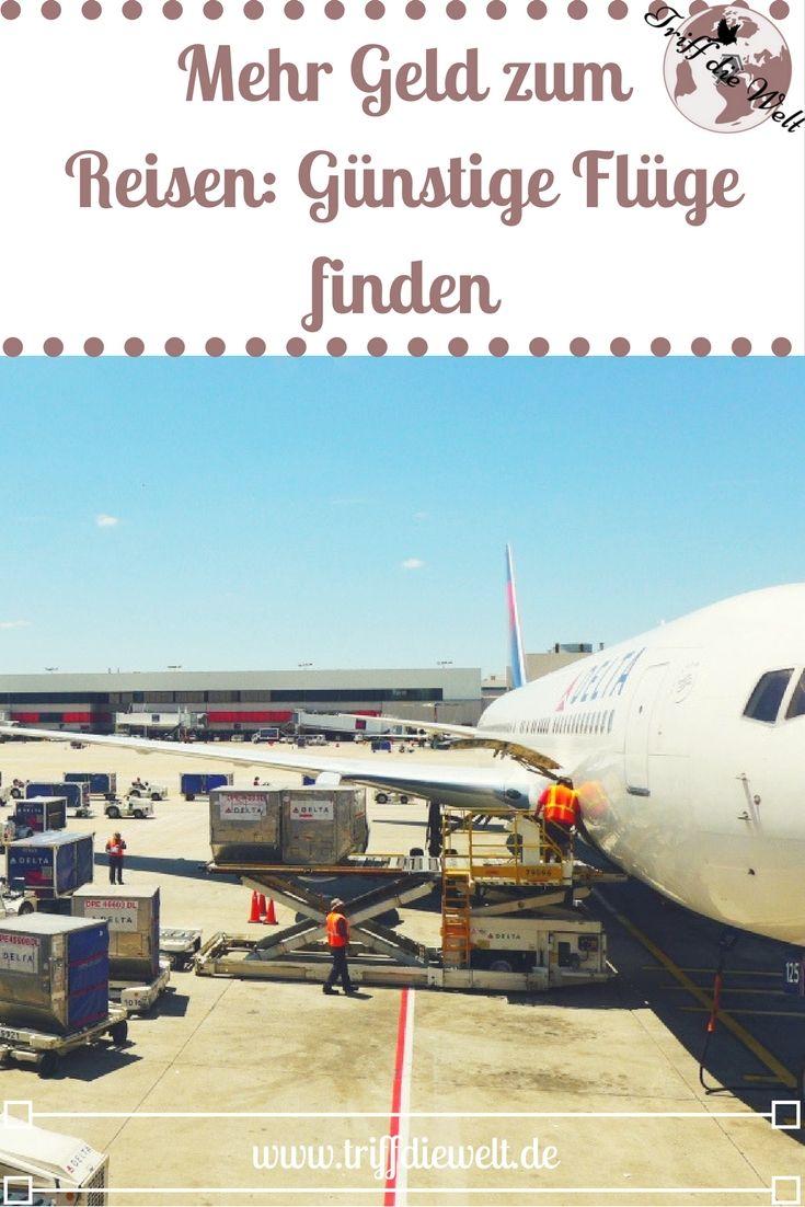Günstige Flüge finden - mit diesen 7 Tricks klappt's bestimmt! Mit billigen Flügen  lässt sich bei einer Reise bereits viel Geld sparen, so dass mehr Budget vor Ort zur Verfügung steht.