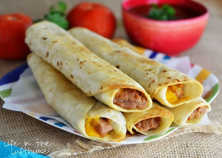 Crisp Bean Burritos - Life In The Lofthouse
