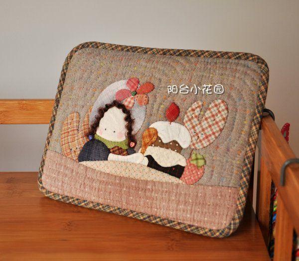 阳台小花园_新浪博客 - iPad case 27x22cm. (frontside)