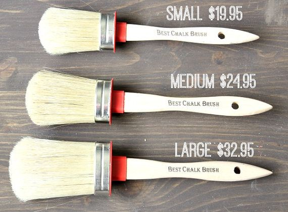 Best Chalk Brush for Furniture Paint and by RefunkingMyJunk