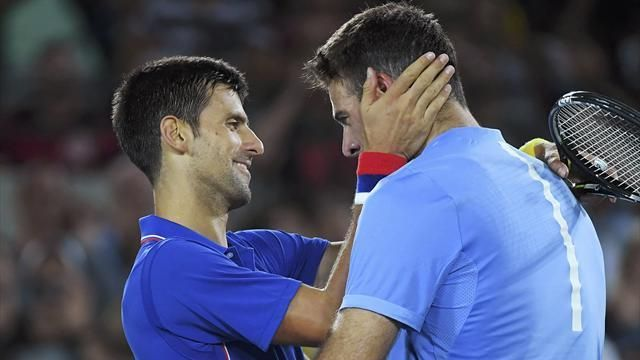 Olympics Rio 2016: Novak Djokovic stunned in first round by inspired Juan Martin Del Potro - Rio 2016 - Tennis - Eurosport