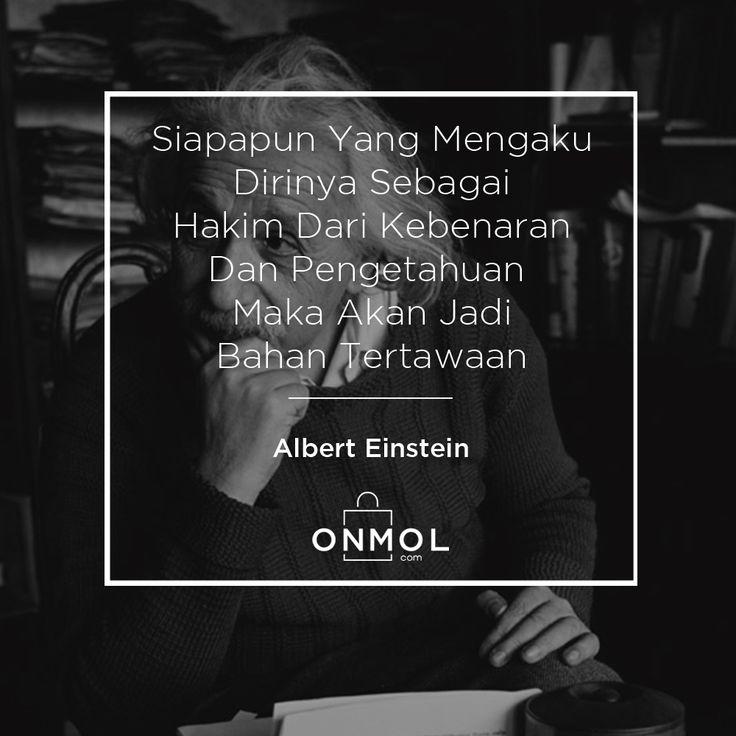 Karena sejatinya pemilik kebenaran adalah Tuhan itu sendiri..Setuju? ... #OnMolID #Quotes #OnMolQuotes #QOTD