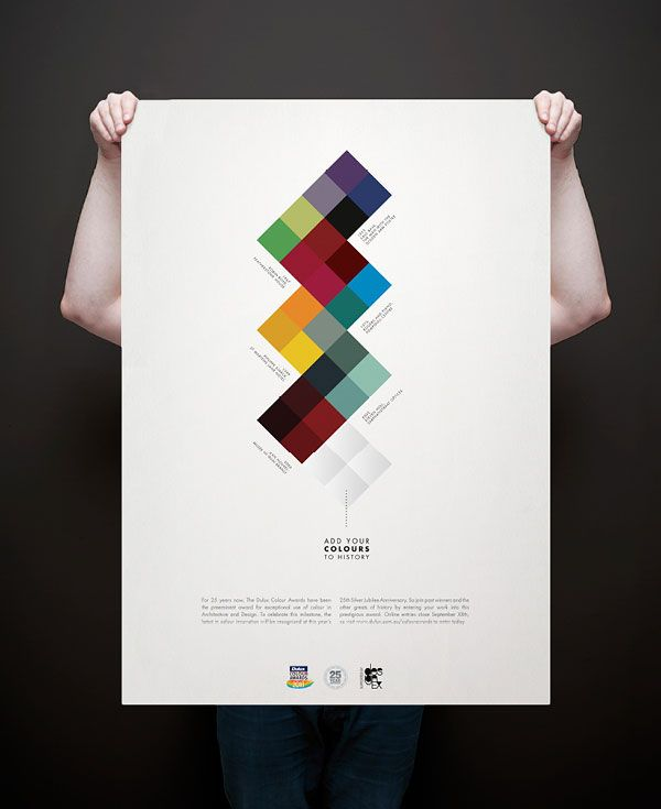Poster and Direct Mail for Dulux Colour Awards | designed by Josip Kelava    A collection of posters, designed by Josip Kelava.