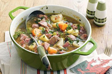 Welsh Lamb Soup {Cawl}  The worlds only dish that says 'home'.