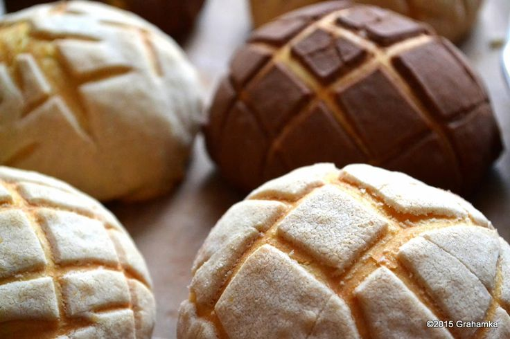 Conchas - meksykańskie słodkie bułki