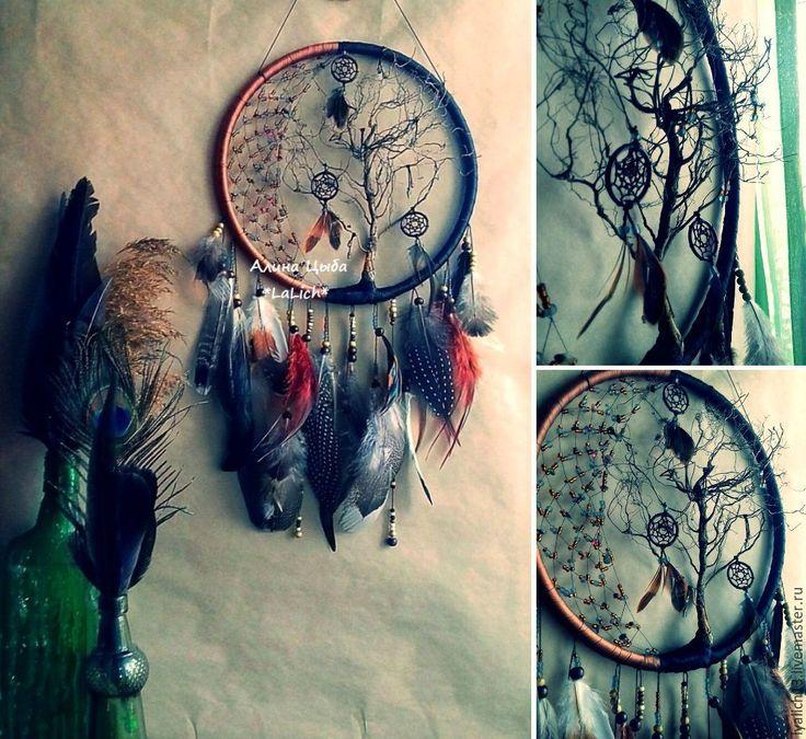 """Купить Ловец Снов """"Сказка Тима Бертона"""" - красивый ловец снов, красивое украшение"""