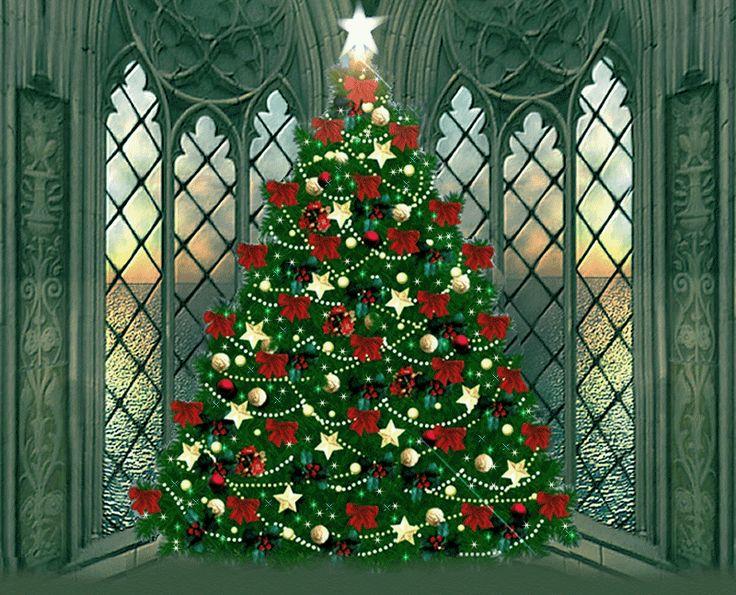 Christmas tree - overlooking the sea