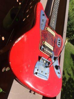 1963 Fender Jaguar+Koffer, Notverkauf in Bayern - Freilassing | Musikinstrumente und Zubehör gebraucht kaufen | eBay Kleinanzeigen