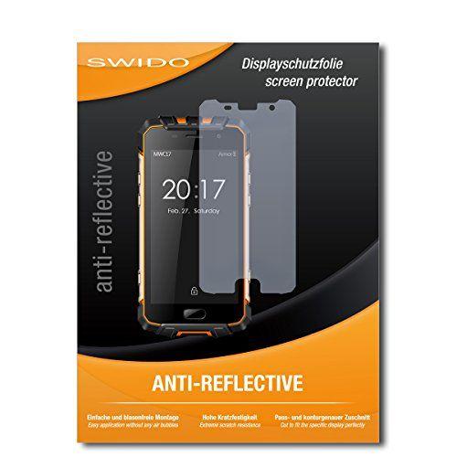 "2 x SWIDO® Protector de pantalla Ulefone Armor 2 Protectores de pantalla de película ""AntiReflex"" antideslumbrante #SWIDO® #Protector #pantalla #Ulefone #Armor #Protectores #película #""AntiReflex"" #antideslumbrante"