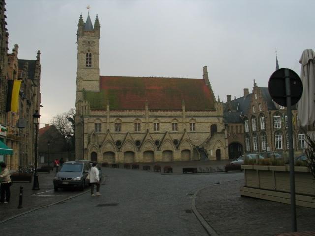Belfry of the Town Hall, Nieuwpoort, Flanders Region, Belgium