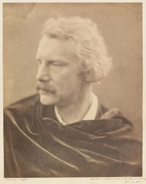 Sir Coutts Lindsay by Julia Margaret Cameron, England, 1865. l Victoria and Albert Museum #Movember #mustache