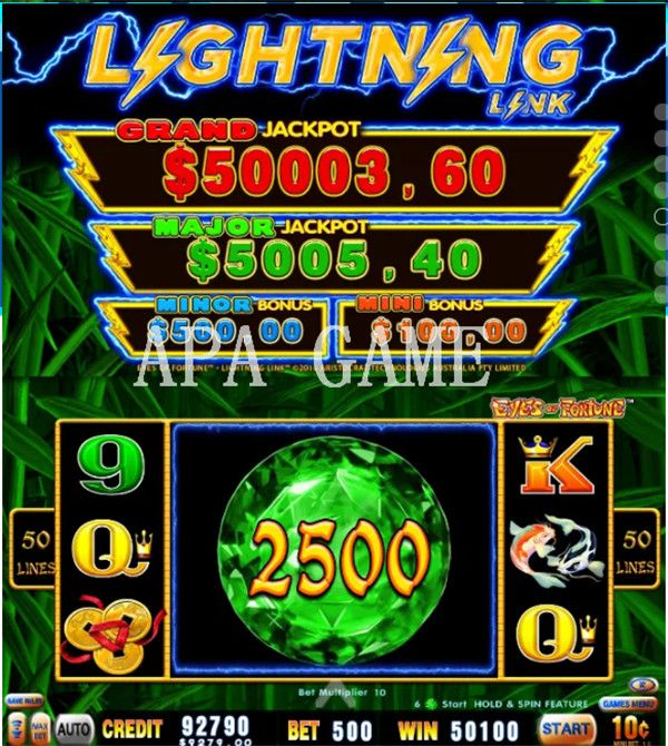 Apa Game Announces Availability Of Slot Game Machines For