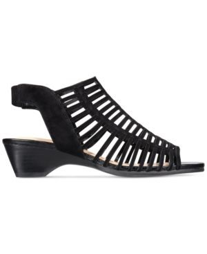 Bella Vita Pacey Sandals - Black 8.5W