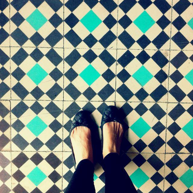 Floor at Cielito Querido, Mexico city
